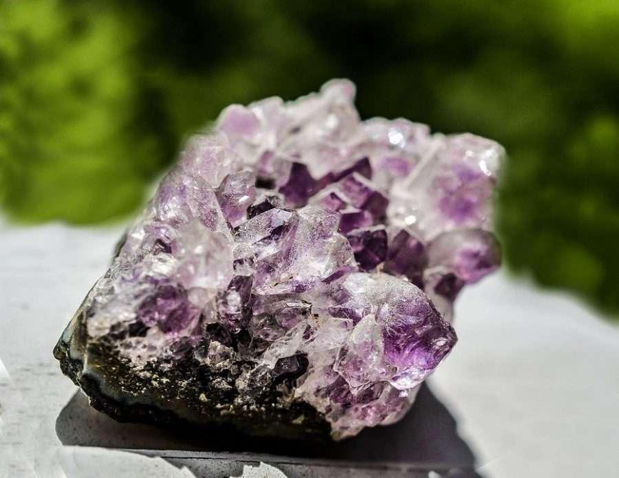 crystal healing amethyst