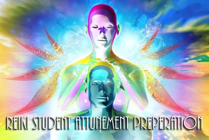 Reiki Student Attunement Preparation