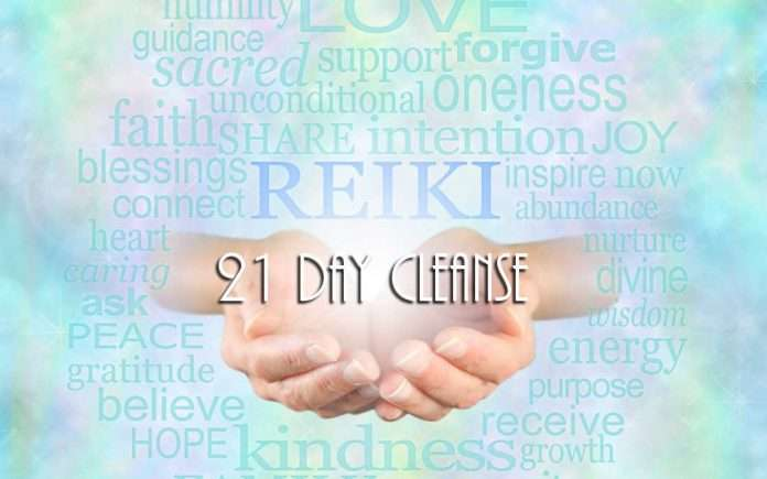 Reiki 21 Day Cleanse