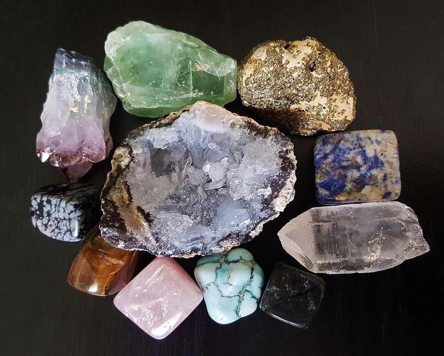 crystal healing yoga