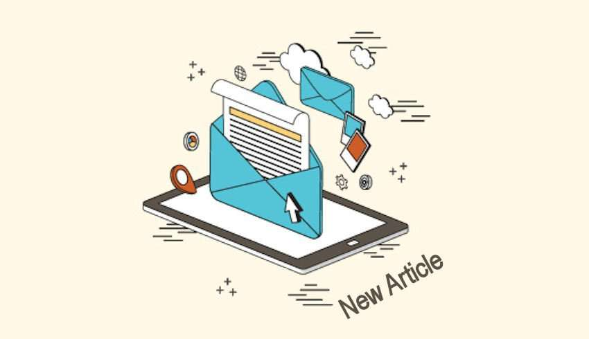 Email Subscription New Article