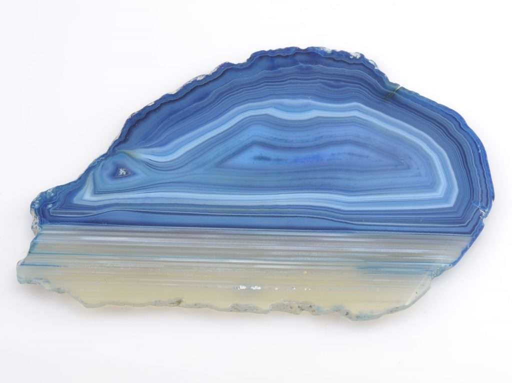 blue lace agate crystal