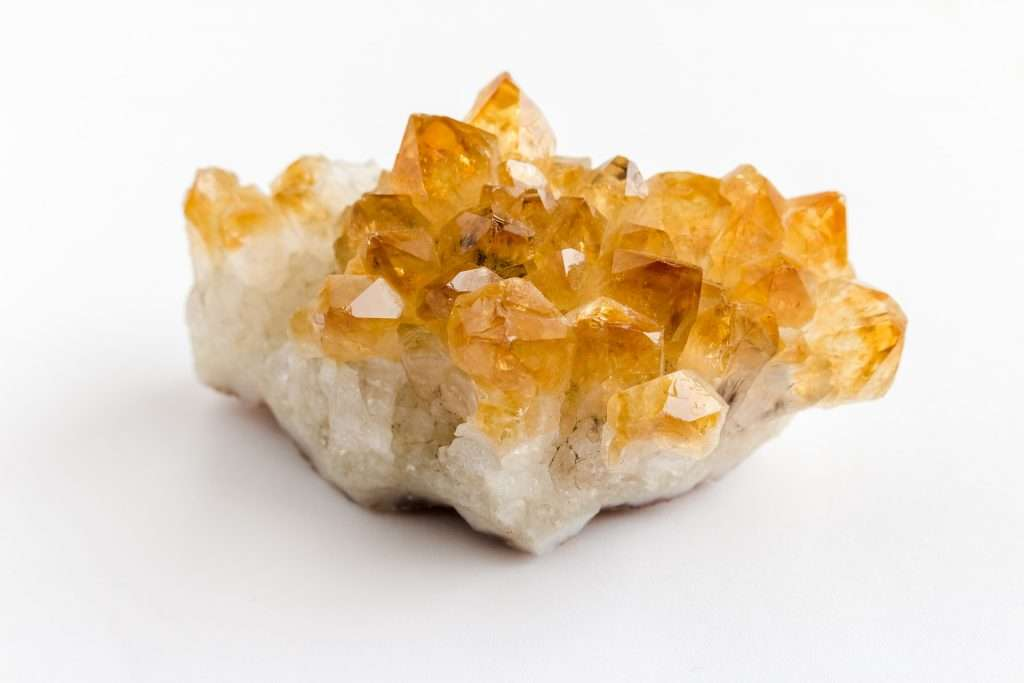 citrine cleansing crystal