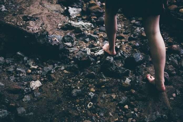 barefoot nature